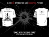 Kaosophia – Dance With The Dead Stars (white) T-shirt M 200UAH/10EUR