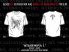 Virvel Av Morkerhatet - Metamorphopsia D. (white) T-shirt L, M, S, girlie M 250UAH/12EUR